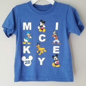 Mickey Mouse and Friends Soft short sleeve tee 2T